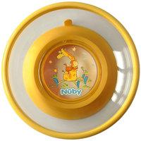 Тарелка на присоске, Nuby, жёлтый