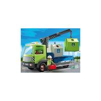 Грузовик для перевозки стеклянной тары, PLAYMOBIL Playmobil®