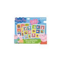 Набор 3в1: Лото + Мемо + Домино +3 пазла , Свинка Пеппа Origami