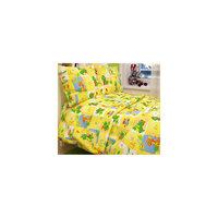 Комплект в кроватку Letto Ясли BGR-20, простыня на резинке, бязь