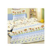 Комплект в кроватку Letto Ясли BGR-15, простыня на резинке, бязь