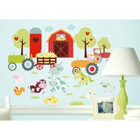 """Наклейки для декора """"Весёлая ферма"""" Room Mates"""