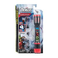 """Фонарик-проектор """"Мстители: 3 в 1"""" (фонарь + лампа + проектор), Marvel Avengers Детское время"""