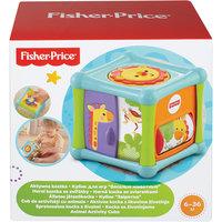 "Кубик ""Веселые животные"", Fisher-Price Mattel"