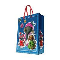 """Подарочный пакет """"Ретро-игрушки"""" 26*32,4*12,7 см Феникс Презент"""