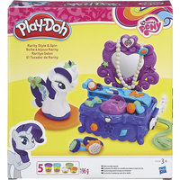 """Игровой набор """"Туалетный столик Рарити"""", Play-Doh Hasbro"""