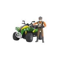 Квадроцикл с гонщиком, Bruder
