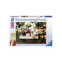 """Пазл """"Цветы и шляпы"""", 500 деталей, Ravensburger"""
