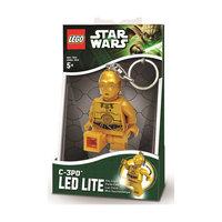 """Брелок-фонарик для ключей """"C3PO"""", LEGO Star Wars Детское время"""