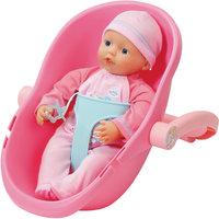Кукла 32 см и кресло-переноска, my little BABY born Zapf Creation