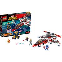 LEGO Super Heroes 76049: Реактивный самолёт Мстителей: космическая миссия