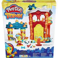 """Игровой набор """"Пожарная станция"""", Город, Play-Doh Hasbro"""