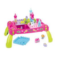"""Стол для конструирования """"Маленькая принцесса"""" First Builders MEGA BLOKS"""