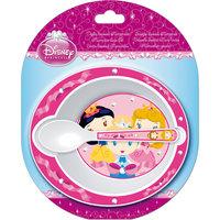 Набор посуды для СВЧ (миска + ложка), Принцессы Новый Диск