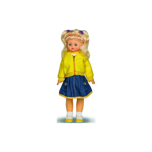Ходячая кукла Алиса 7 (пластмассовая), со звуком, 55 см, Весна