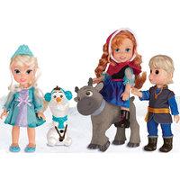 """Игровой набор """"5 кукол"""", 15 см, Холодное Сердце Disney"""