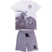 Комплект: футболка и шорты для мальчика S'cool