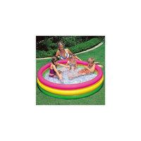 """Детский надувной бассейн """"Радуга"""" с надувным полом, Intex"""