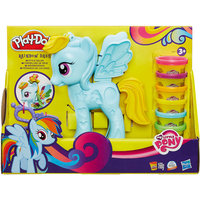 "Игровой набор ""Стильный салон Рэйнбоу Дэш"", My little Pony, Play-Doh Hasbro"