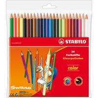 Набор цветных карандашей 20+4 цв. Stabilo