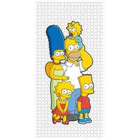 """Полотенце """"Семейка Simpsons"""" 70*140 см, Симпсоны Мона Лиза"""