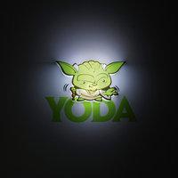 """Пробивной мини 3D светильник """"Йода"""", Звёздные Войны Детское время"""