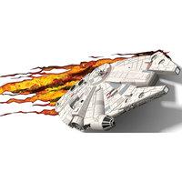 """Пробивной 3D светильник """"Тысячелетний сокол"""", Звёздные Войны Детское время"""