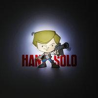 """Пробивной мини 3D светильник """"Хан Соло"""", Звёздные Войны Детское время"""