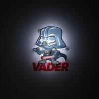 """Пробивной мини 3D светильник """"Дарт Вейдер"""", Звёздные Войны Детское время"""