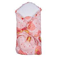 Конверт-одеяло в коляску, Бимоша, светло-розовый