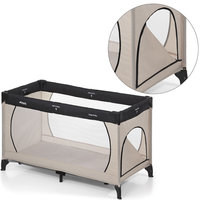Манеж Dream`n Play Plus, Hauck, beige/grey