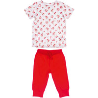 Комплект: футболка и бриджи для девочки PlayToday
