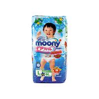 Трусики-подгузники для мальчиков Moony Man, L 9-14 кг., 44 шт