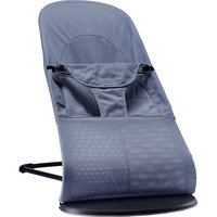 Кресло-шезлонг Balance Soft Air, BabyBjorn, синий