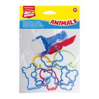 """Набор пластиковых аксессуаров для лепки """"Animals"""", Artberry Erich Krause"""