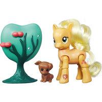 "Пони Эппл Джек, ""Дружба - это чудо!"", My little Pony Hasbro"