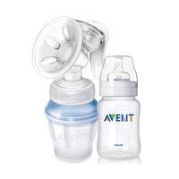 Молокоотсос ручной AVENT Comfort SCF330/12 + Бутылочка для кормления, 260 мл