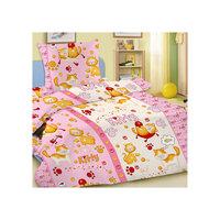 """Комплект """"Китти"""" 1,5-спальный (наволочка 50х70), розовый Letto"""