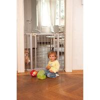 Детские ворота безопасности Trigger Lock Safely Gate silver, Hauck