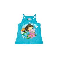 Майка для девочки Даша-путешественница Button Blue