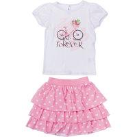 Комплект: футболка и юбка PlayToday