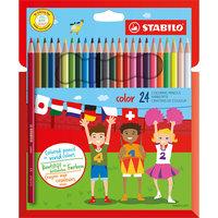 Набор цветных карандашей 24 цв. Stabilo