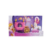 Кукла Рапунцель, в наборе с каретой и лошадью, Принцессы Дисней, Mattel