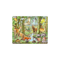 """Пазл """"Европейский лес"""", 40 деталей, Larsen"""