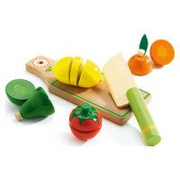"""Набор для разрезания """"Фрукты и овощи"""", DJECO"""