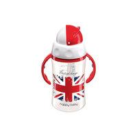 Поильник с трубочкой и вращающейся крышкой FEEDING CUP, 240мл., Happy Baby, British