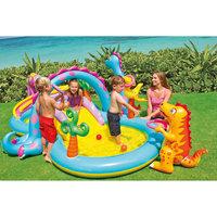 """Детский игровой комплекс с бассейном """"Динолэнд"""", Intex"""