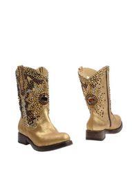 Золотистые Полусапоги и высокие ботинки Giancarlo Paoli