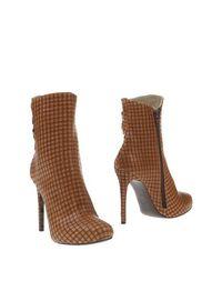 Коричневые Полусапоги и высокие ботинки Giancarlo Paoli