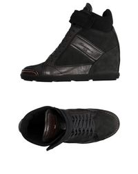 Высокие кеды и кроссовки Santoni Club